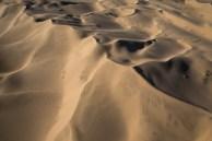 O efeito da sombra sobre as dunas
