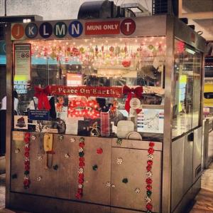 festive muni station