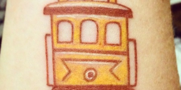 Add another to the Pantheon of Muni tattoos