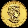 $50 Cdn Maple Leaf Coin - front