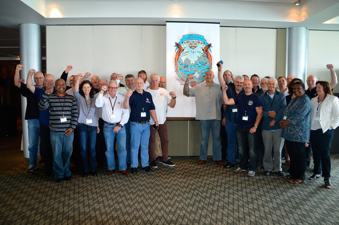 Maritime unions gather to strengthen South Pacific unionism