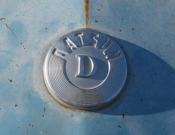 1965 Datsun 320 Pickup Hood Ornament