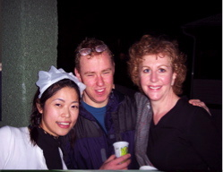 Anne DeWolfe partying with my former classmates