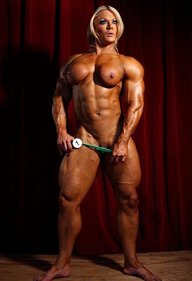 Opinion big bodybuilder nude girls