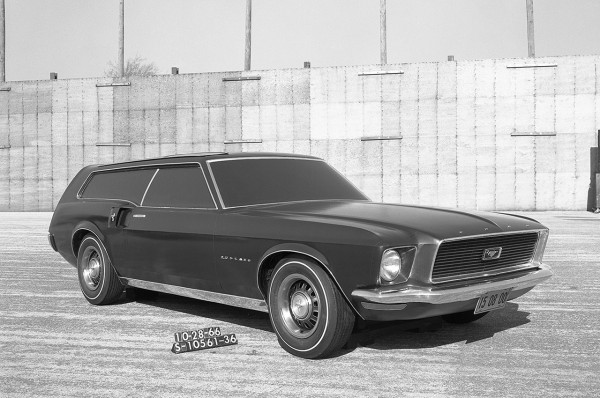 8 1966 Ford Mustang Station Wagon 17 Ford Mustang Concepts