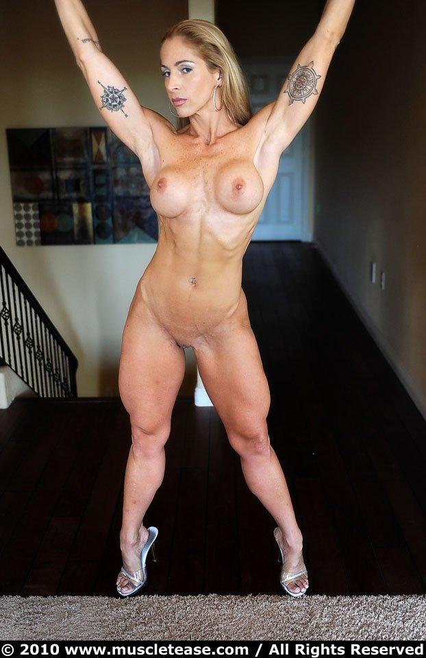 muscular female ass