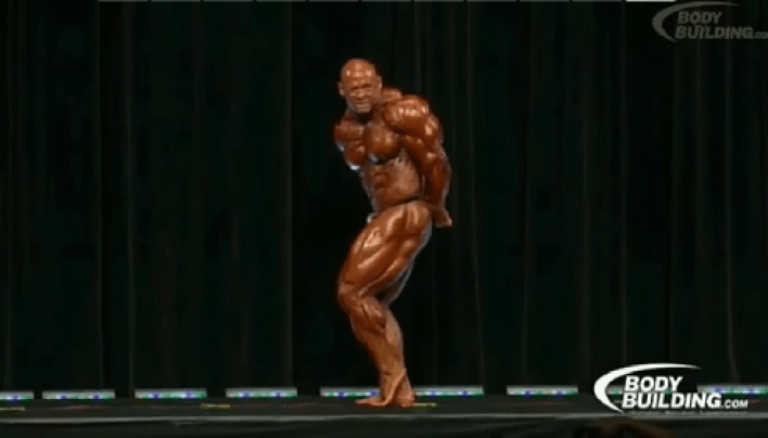 Branch Warren Posing At 2012 Arnold Classic
