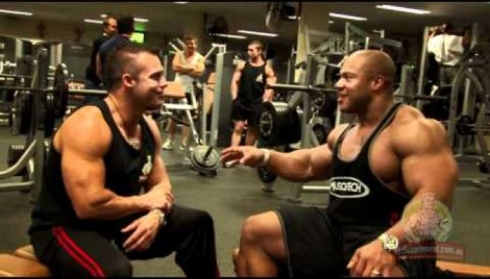 Phil Heath – Tips For Young Bodybuilders
