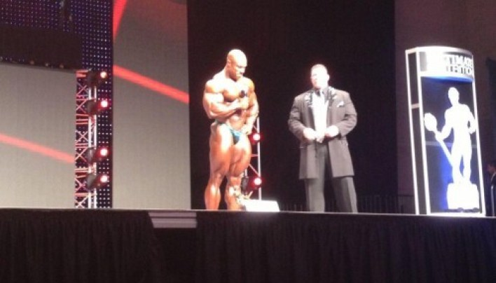 Phil Heath 2012 Mr. Olympia Winner