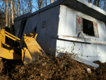 demolition services and removing old driveways, buildings, piers, boathouses or debris