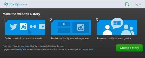 Screenshot: storify.com