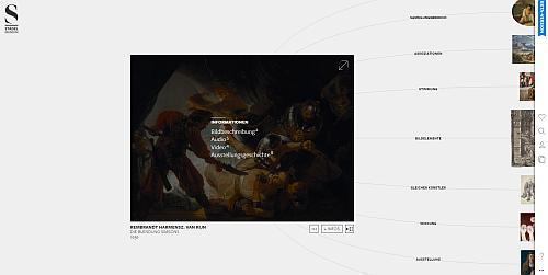 Detail-Ansicht in der Digitalen Sammlung. Screenshot: Tanja Neumann