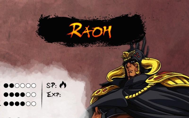 Personaggi pregenerati: Raoh da Ken il Guerriero