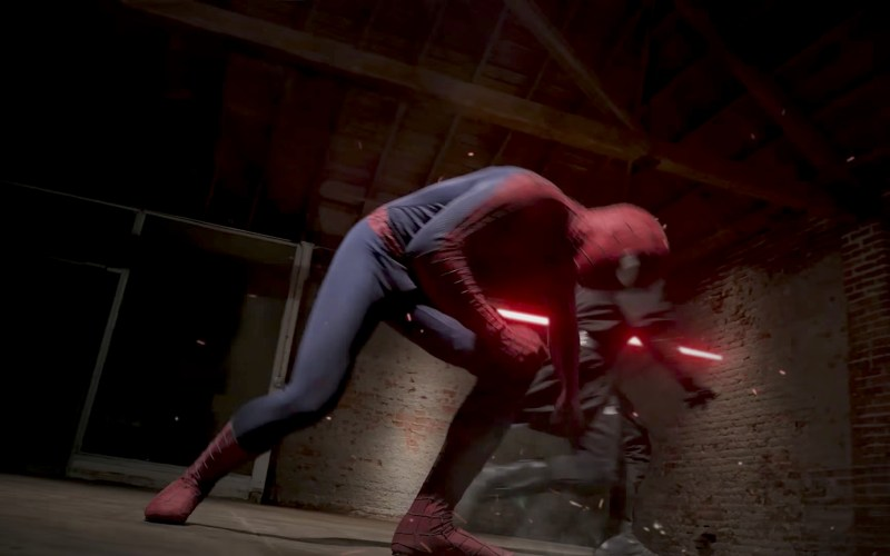 Fantasy Fight – Spiderman VS Darth Maul – Parte 2