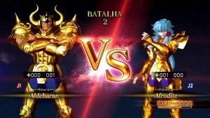 Cavalieri d'ordo: Aldebaran VS Aphrodite