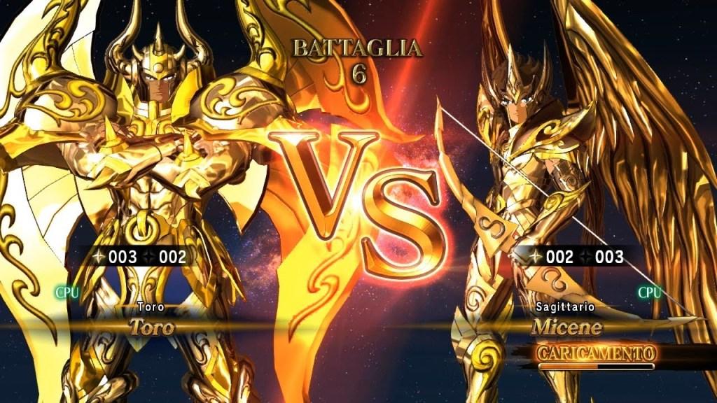Cavalieri d'Oro: Aldebaran VS Aiolos