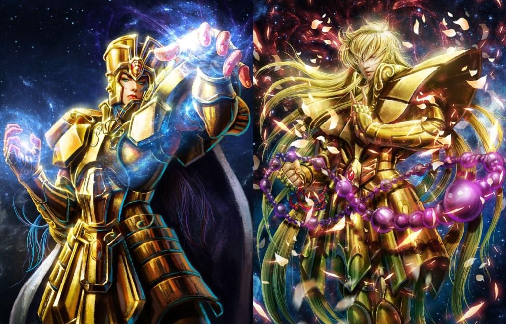 Cavalieri d'Oro: Shaka VS Saga
