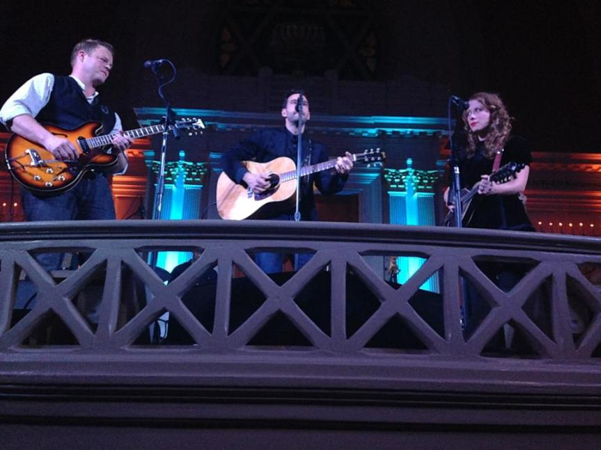 The Lone Bellow with Greg Holden at 6th & I Synagogue