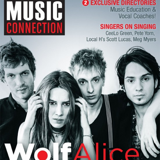 Wolf Alice cover current issue