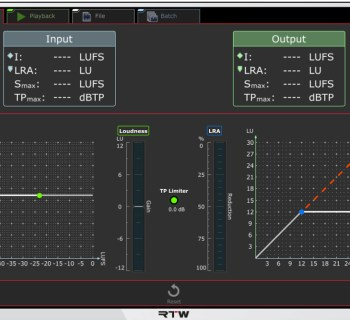 music gear rtw continuous loudness control