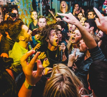 Cage The Elephant photo by Pooneh Ghana