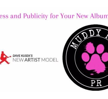 New Artist Model & Muddy Paw PR announce free publicity webinar