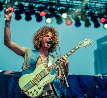 Wolfmother at South By Southwest 2016 photo by Jody Domingue