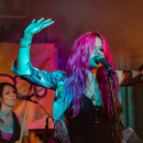Allison Iraheta + Halo Circus live review - photo by Matthew Belter