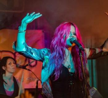 Allison Iraheta + Halo Circus live review - photo by Matthew Belter