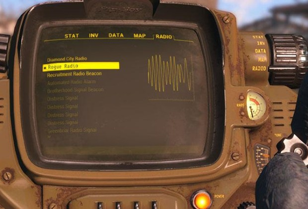 Rogue Radio Mod from Fallout 4