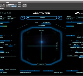 zynaptiq adaptiverb 1.1 plug-in music gear review