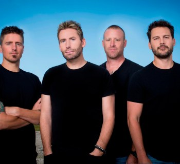 Nickelback sign with BMG, head to studio - photo by Richard Beland