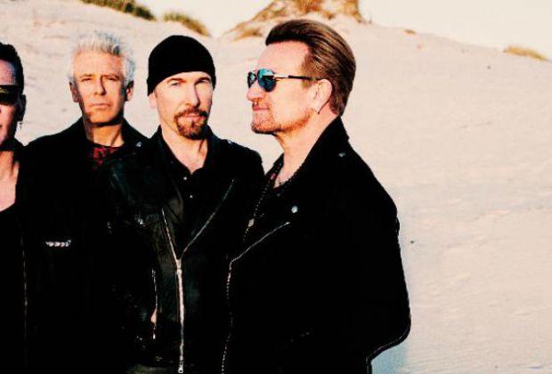 U2 Joshua Tree Tour - Title Trackers petition - photo by Anton Corbijn