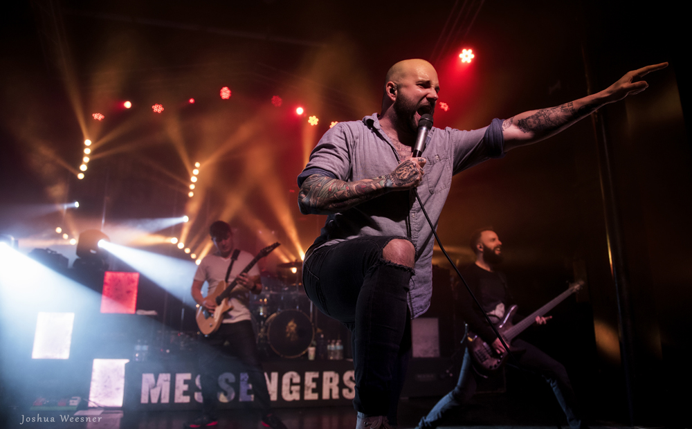 August Burns Red at the Observatory in Orange County, CA - photo by Joshua Weesner