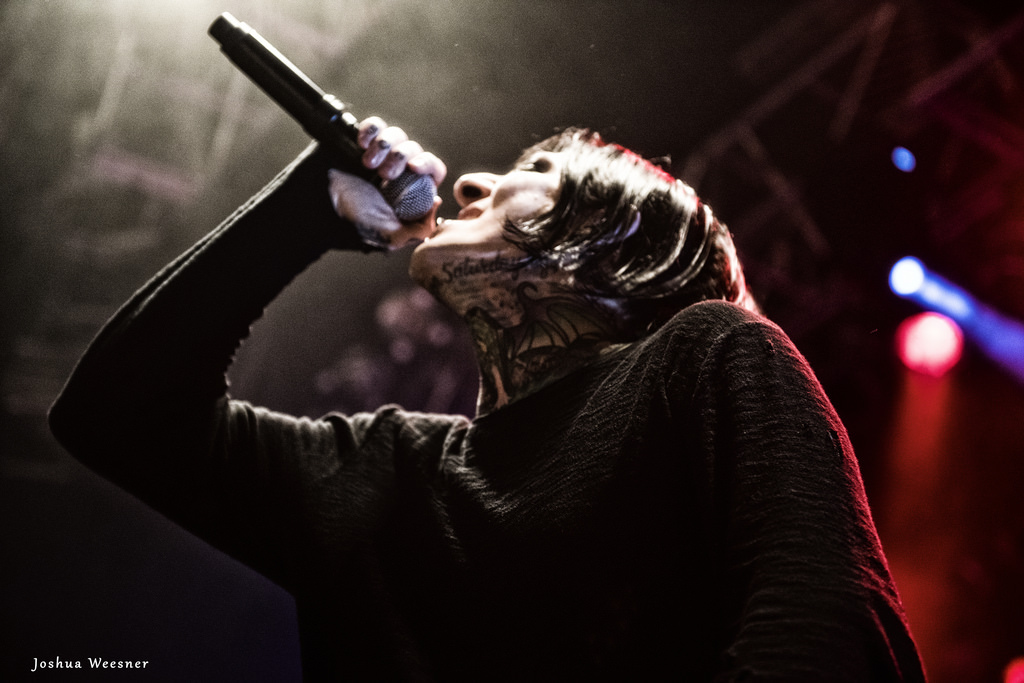 Motionless In White - House of Blues, San Diego - photo credit: Joshua Weesner