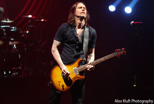 Alter Bridge at the Wiltern in Los Angeles, CA - photo credit: Alex Kluft