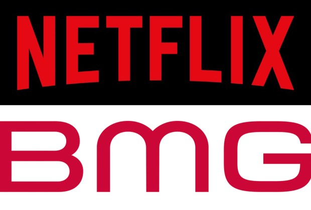 Netflix signs deal with BMG