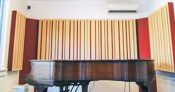 LA Sound Panels - piano room