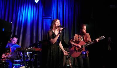Andrea Hamilton at Hotel Cafe in Hollywood, CA - photo credit: Peter Zuehlke
