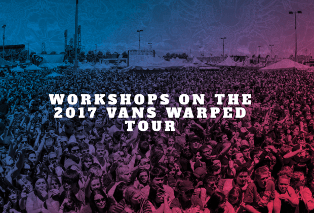 The Entertainment Institute workshops at Warped Tour
