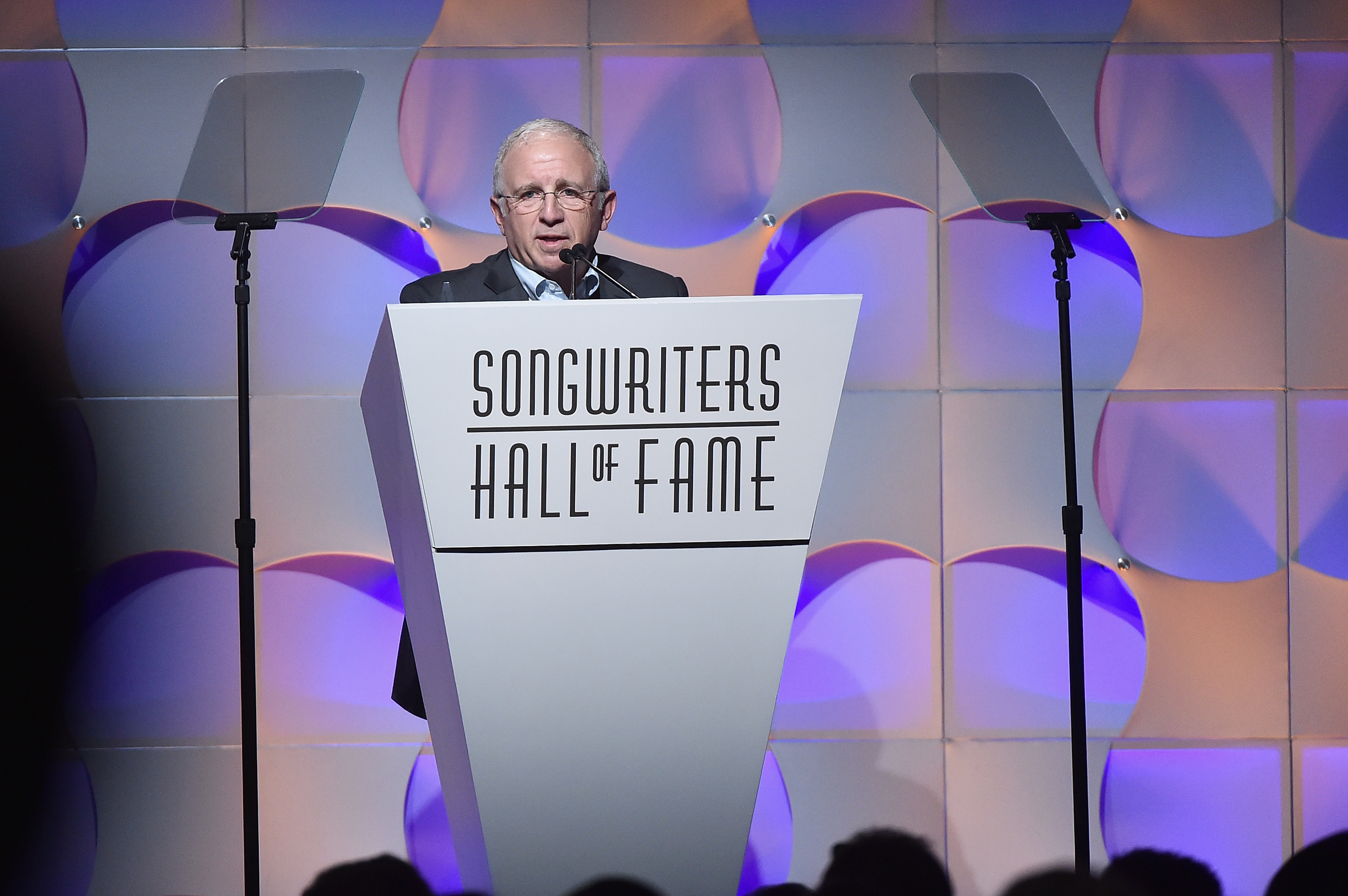 NEW YORK, NY - JUNE 15:  Irving Azoff speaks onstage at the Songwriters Hall Of Fame 48th Annual Induction and Awards at New York Marriott Marquis Hotel on June 15, 2017 in New York City.  (Photo by Theo Wargo/Getty Images for Songwriters Hall Of Fame) *** Local Caption *** Irving Azoff