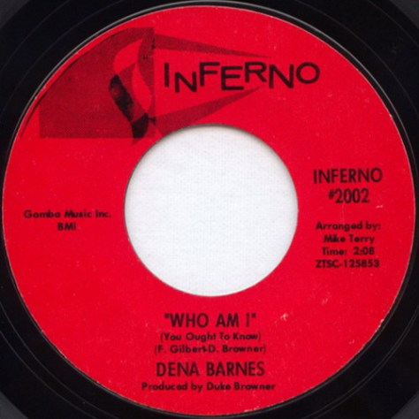 Dena Barnes – Who Am I (Inferno #2002)