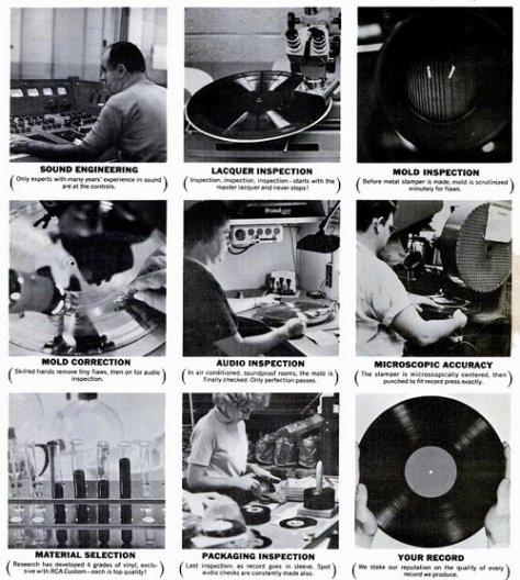 RCA Record Inspection | Проверка качества виниловых пластинок