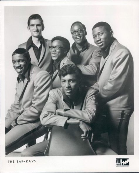 Bar-Kays - 1968 Early Photo From Stax-Volt (Soul, R & B, Funk Band)