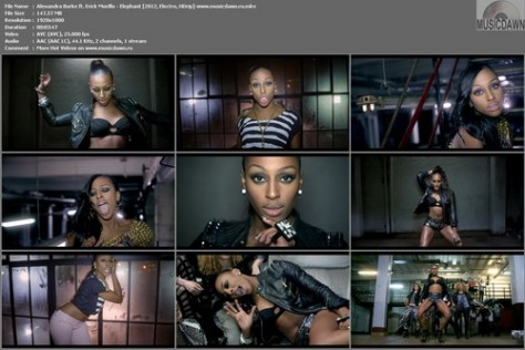 Alexandra Burke ft. Erick Morillo - Elephant (2012, Electro, HD 1080p)