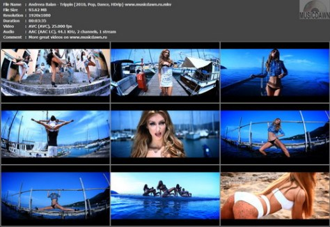 Andreea Balan – Trippin' [2010, HDrip 1080p] Music Video (Re:Up)