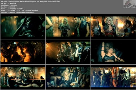 Britney Spears – Till The World Ends [2011, HDrip 1080p] Music Video (Re:Up)