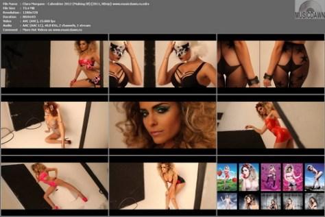 Clara Morgane - Сalendar 2012 (Making Of) 2011, HD 720p