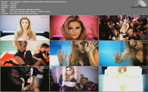 Clara Morgane – Le Diable Au Corps + The Making Of Video [2010, DVDrip] Music Video (Re:Up)
