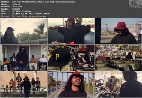 Dam-Funk - Hood Pass Intact (2010, G-Funk, HDrip)